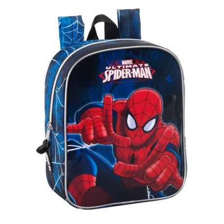 Sac à roulettes Spiderman 27 CM maternelle Haut de Gamme