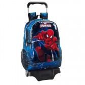 Sac à roulettes Spiderman Ultimate 44 CM Haut de Gamme