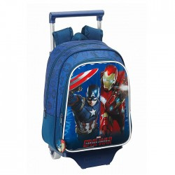 Captain America 33 CM wheeled travelbag kindergarten high-end - Binder