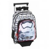 Sac à roulettes Star Wars The Force 34 CM maternelle Haut de gamme - Cartable