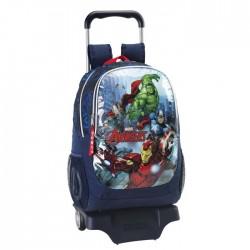 Sac à roulettes Avengers Assemble 44 CM Haut de Gamme - Cartable