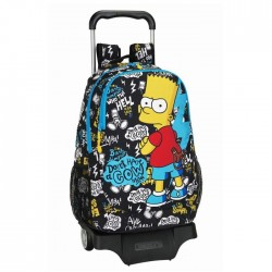 Simpson 44 CM Gud Bad high - school bag trolley bag