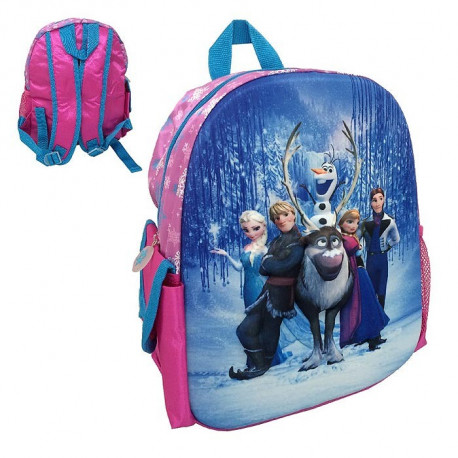 Backpack hull Frozen all-star 3D 34 CM snow Queen