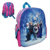 Backpack hull Frozen all-star 3D 34 CM snow Queen