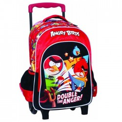 Rolling Backpack Angry Birds Fight 43 CM - Trolley