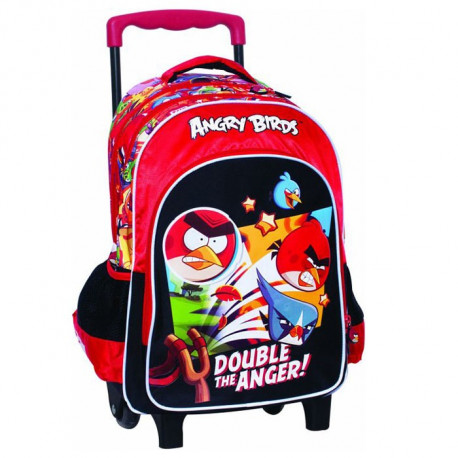 Sac à roulettes Angry Birds Fight Trolley - Cartable