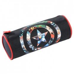 Avengers Assemble black 22 CM round Kit