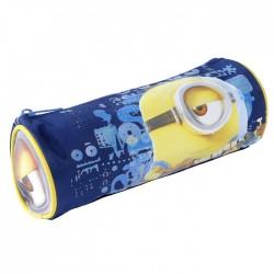 Round Kit Minions blue 22 CM