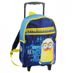 Rolling Backpack Minions 38 CM Blue