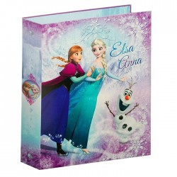 Classeur A4 Reine des neiges 32 CM rose collection Cold