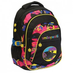 Smiley Surf 46 CM black - 3 Cpt backpack