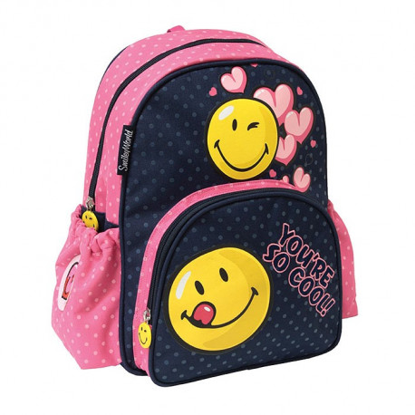 Sac à dos maternelle Smiley Cool 34 CM