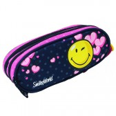 Trousse Smiley Cool 21 CM - 2 cpt