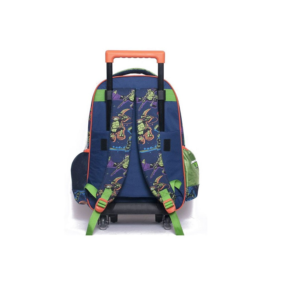 cartable roulettes tortue ninja 43 cm power trolley - Cartable Tortue Ninja