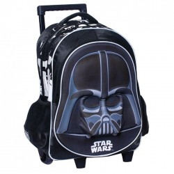 Star Wars Black Vader 43 CM high - school bag trolley bag