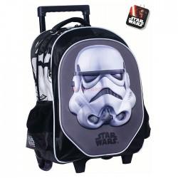 Sac à roulettes Star Wars White Trooper 43 CM HAUT DE GAMME - Cartable