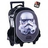 Star Wars zwarte Vader 43 CM hoog - schooltas trolley tas