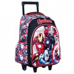 Bookbag skateboard Avengers 43 CM Trolley