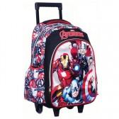 Bookbag skateboard Avengers 43 CM Trolley