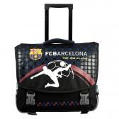 Cartable à roulettes FC Barcelone 41 CM Haut de gamme