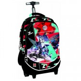 X - GAMES Skateboard 48 CM type Binder wielen travelbag