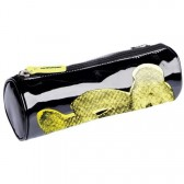 Trousse Lulu Castagnette vinyl nounours jaune 22 CM