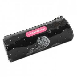 Kit van Lulu Castagnette zwart en roze 22 CM