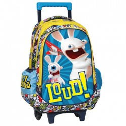 Rolling Backpack Rabbids 43 CM - Trolley