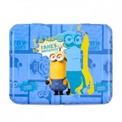 Goed punt Minions blauwe doos