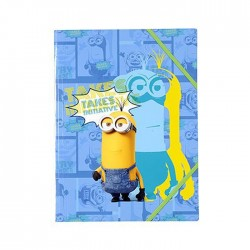 Elastic folder A4 Minions 32 CM