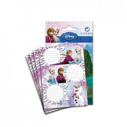 Lot of 12 labels the Frozen snow Queen