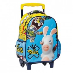 Rolling Maternal Backpack Rabbids 30 CM