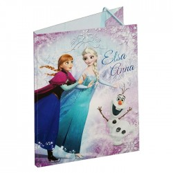 Elastische folder A4 bevroren 32 CM sneeuw koningin
