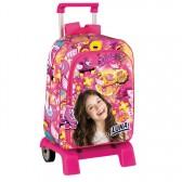 Backpack skateboard Titi Black 42 CM trolley premium - Binder