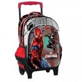 Carro Spiderman Warriors 43 CM de alto - bolsa satchel