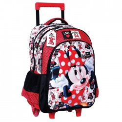 Backpack skateboard Minnie Love 43 CM Trolley