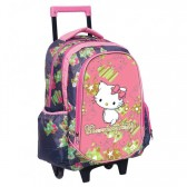Boekentas skateboard Charmmy Kitty hart 43 CM Trolley