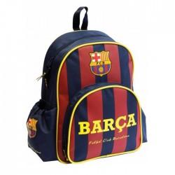 Sac à dos maternelle FC Barcelone Basic bleu 34 CM - FCB