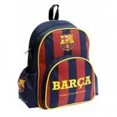 Sac à dos maternelle FC Barcelone Basic bleu 34 CM