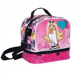 Sac gouter Barbie Girl - sac déjeuner