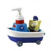 Distributeur de savon Bob l'eponge bateau 3D