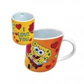 Mug penché Bob l'éponge I love you