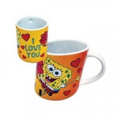 Mug penché Bob l'éponge I love you