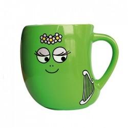 Taza verde Barbalala