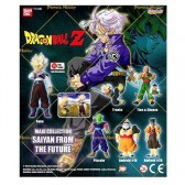 Collection of 6 figurines Dragon Ball Z - Saiyan from the future