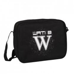 Besace Wati B 37 CM Logo Blanc