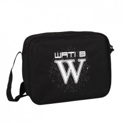 Satchel Wati B 37 CM Logo white
