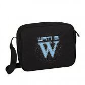 Besace Wati B 37 CM Logo Bleu