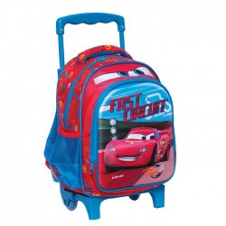Sac à roulettes trolley maternelle Cars Fast 31 CM - Cartable