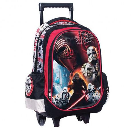 Star Wars Black Vader 43 CM high - school bag trolley bag